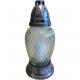 Grablampe glass Ferro, height 24cm, incl.Einsatz,